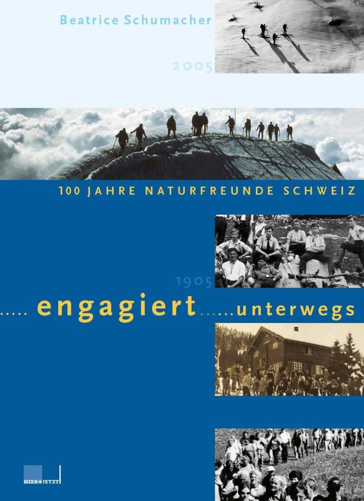 Titelblatt des Buches «ENGAGIERT UNTERWEGS»